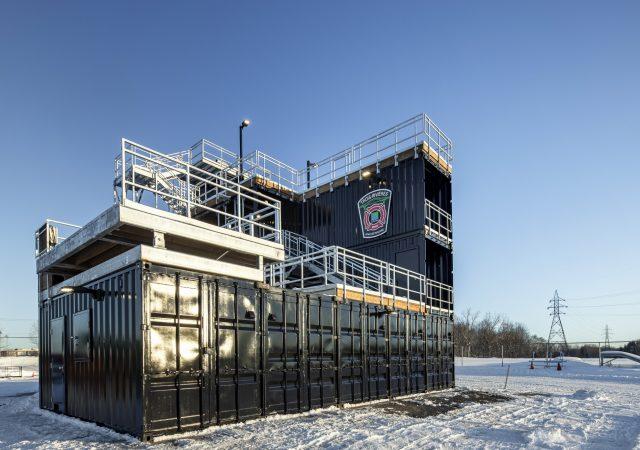 Le centre d'entraînement pour pompiers est maintenant terminé!