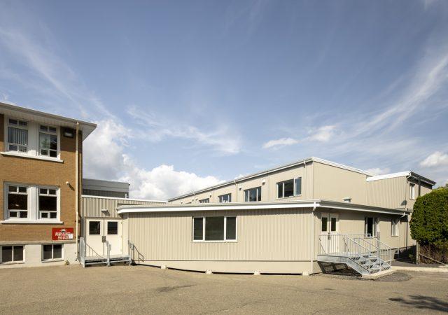 Réalisation et construction d'une extension modulaire d'une école primaire